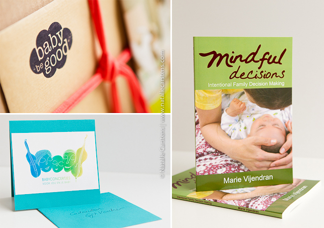 BabyBeGood Doos, Babyconcertjes gift voucher and Mindful Decisions book