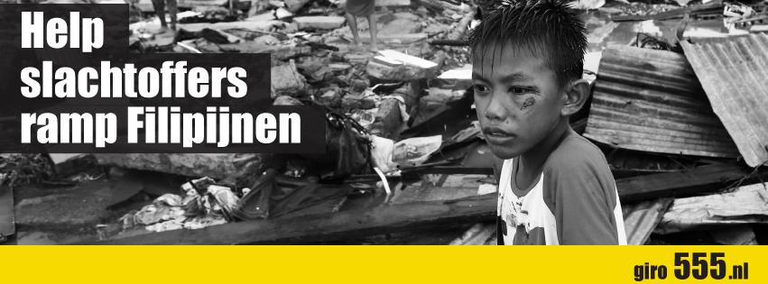 Help slachtoffers ramp Filipijnen | giro555