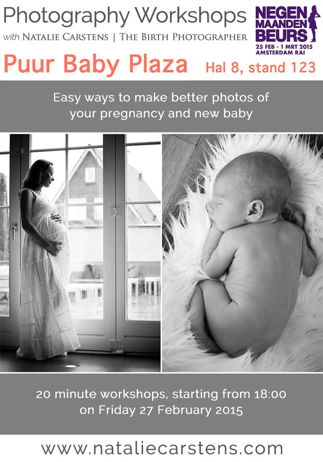 Photography Workshops for parents(to-be) at the Negenmaandenbeurs, Amsterdam RAI