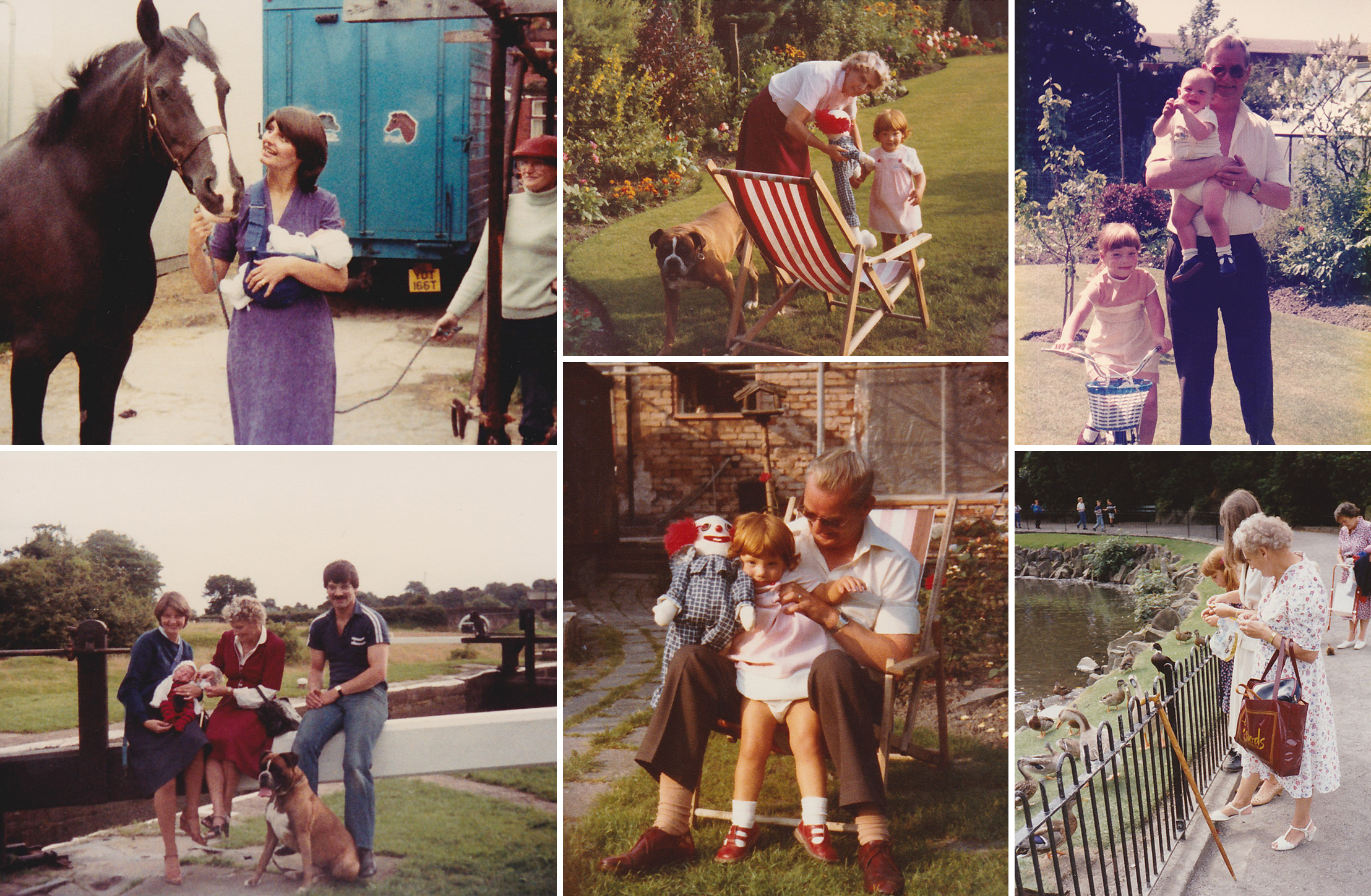 Nostalgia, and photos that become our family history